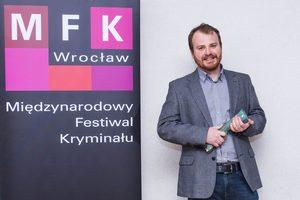 Wojciech Chmielarz laureatem Nagrody Wielkiego Kalibru 2015 [fot. Nagroda Wielkiego Kalibru]