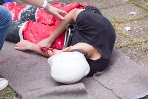 Wypadek przy pracy - kto za to zapłaci? [Fot. wellphoto - Fotolia.com]