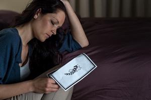 Żałoba wpływa na rozwój zaburzeń psychicznych [© CandyBox Images - Fotolia.com]