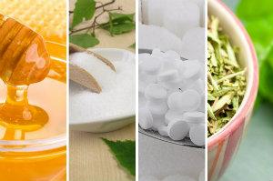 Zamienniki cukru: fakty i mity [fot. collage Senior.pl]