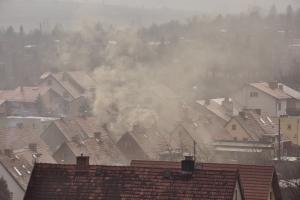 Zanieczyszczenie powietrza jest tak groźne jak nadwaga - wywołuje nadciśnienie [Fot. Grzegorz Polak - Fotolia.com]