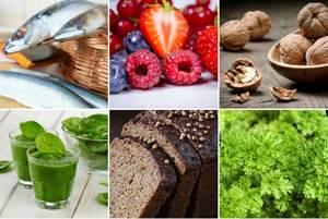 Zdrowe oczy ze zdrową dietą [fot. collage Senior.pl]