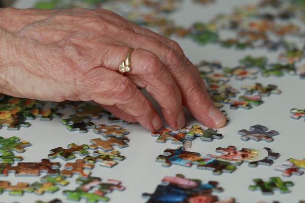 Zdrowie mózgu w starszym wieku - ważna jest różnorodność podejmowanych działań [fot. Marjon Besteman-Horn from Pixabay]