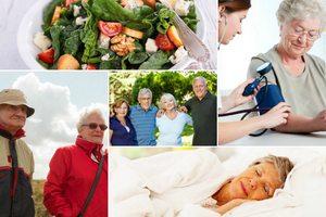 Zdrowy senior to szczęśliwy senior. Pięć sposobów na długowieczność [fot. collage Senior.pl]