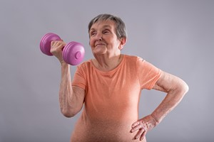 Żeby nie tracić tkanki mięśniowej, trzeba ćwiczyć [Ćwiczenia © thodonal - Fotolia.com]