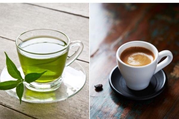 Zielona herbata i kawa pomagają diabetykom uchronić się przed śmiercią  [fot. collage Senior.pl / Canva]