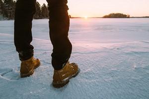 Zimowe odmrożenia stóp: pierwsza pomoc [© xan844 - Fotolia.com]