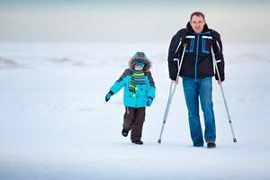 Zimowe urazy: interwencja lekarza bywa konieczna [© levranii - Fotolia.com]