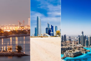 Zjednoczone Emiraty Arabskie - cel wycieczek seniora? [ZEA, fot. collage Senior.pl]