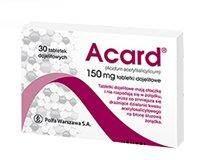 Acard tabletki dojelitowe 150 mg