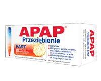 Apap Przeziębienie Fast tabletki musujące 500 mg + 300 mg