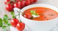 Śródziemnomorska pomidorowa zupa krem